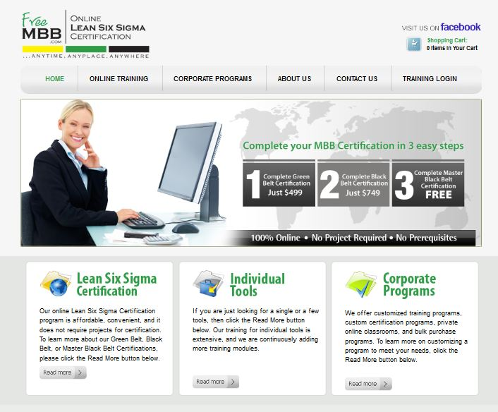 Lean Six Sigma Certification through www.FreeMBB.com