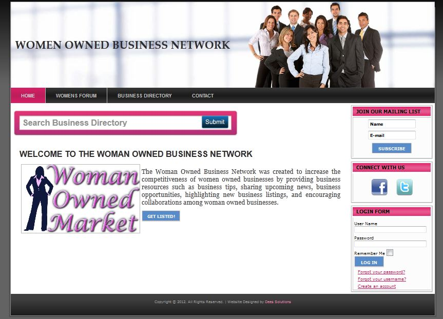 Woman Owned Business Network